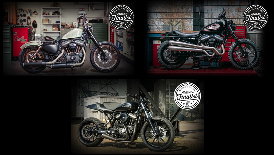 Harley Davidson Custom Kings Finalists Benelux