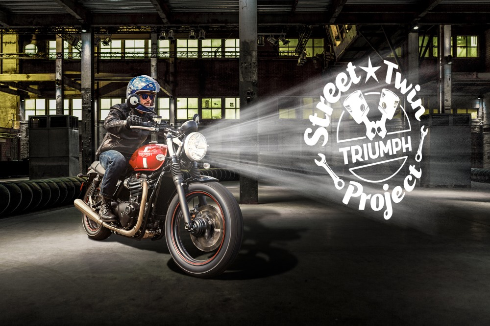 Triumph Street Twin Project