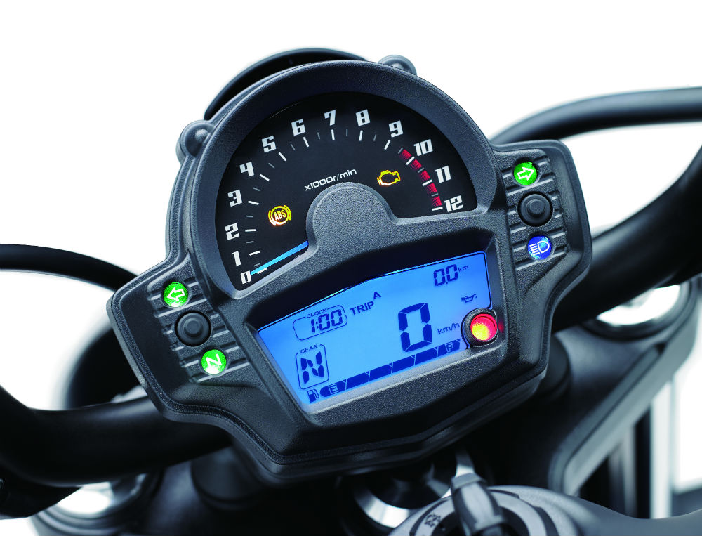 Kawasaki Vulcan S MY17 Display